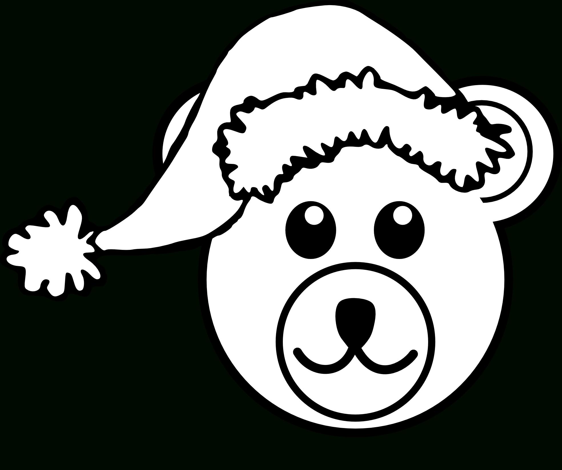 1969x1646 Drawing Teddy Bear Face