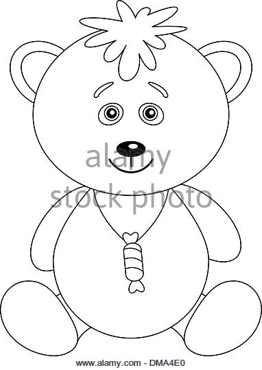 382x540 Bear Contour Drawing Stock Photos Amp Bear Contour Drawing Stock
