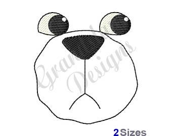 340x270 Teddy Bear Face