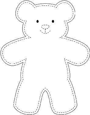 295x375 The Best Teddy Bear Template Ideas On Bear