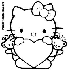 236x245 Teddy Bear In Pajamas Coloring Page Alltoys On Valentines Day