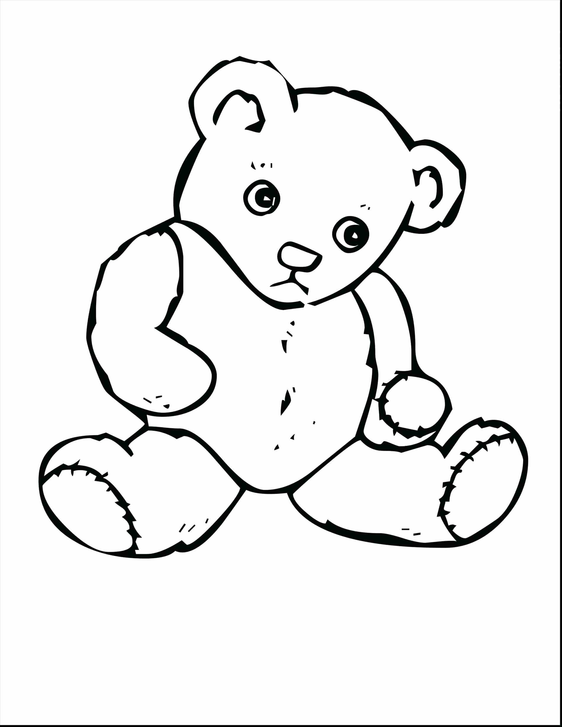 1899x2458 Coloring Teddy Bear With Heart Coloring Pages The Pooh. Teddy