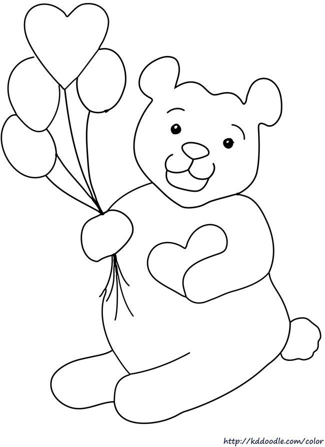 650x893 Drawn Teddy Bear