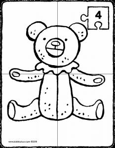 233x300 Make A Teddy Bear Puzzle