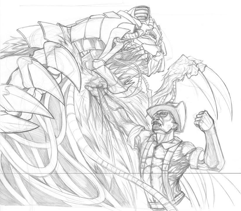 824x720 Woodyman Illustration Bully 2 The Most Dangerous Game, Cyborg