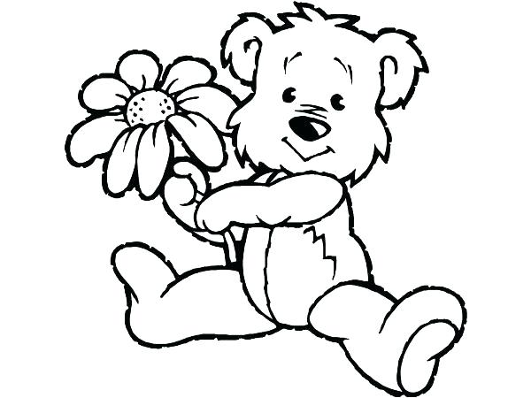 600x450 Teddy Bear For Coloring Picture Of Teddy Bear Coloring Page Teddy