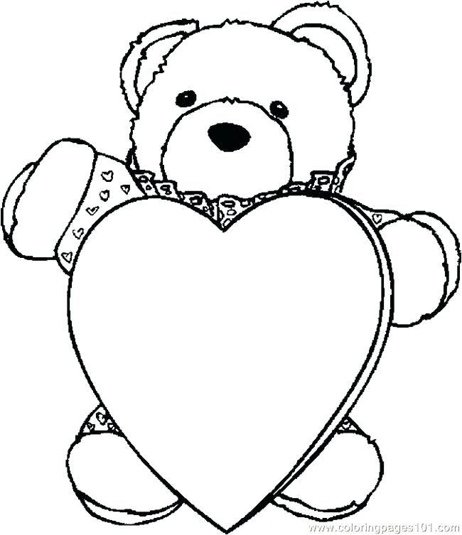 650x753 Idea Teddy Bear Coloring Pages For Teddy Bear Drawing 86 Teddy