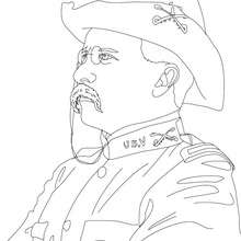 220x220 President Theodore Roosevelt Coloring Pages