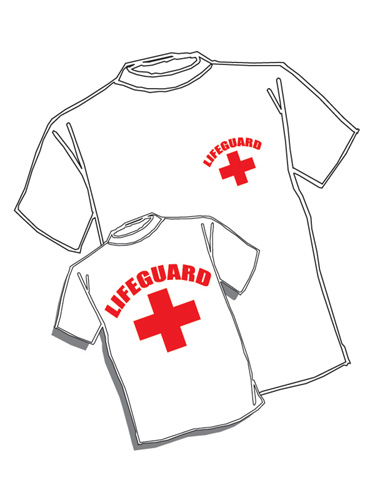 375x500 Lifeguard T Shirt Lifeguard Large