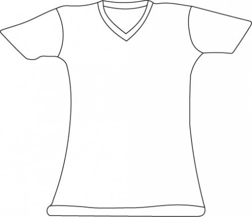 500x430 Blank T Shirt Template I Want To Make Template