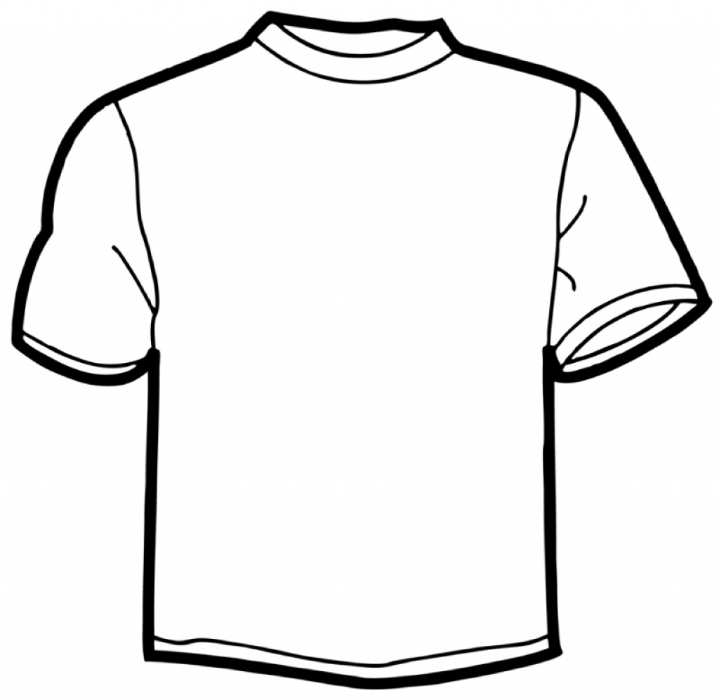 1024x997 Coloring Pages Elegant T Shirt Coloring Page For Pages T Shirt