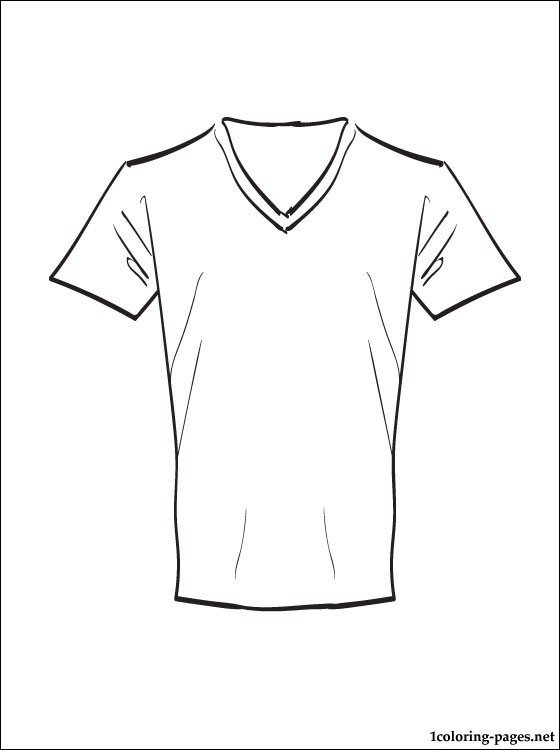 560x750 Fascinating T Shirt Coloring Page 99 About Remodel Picture
