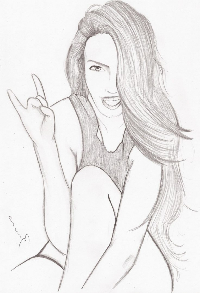 700x1024 Photos Drawings Of Teenage Girls,