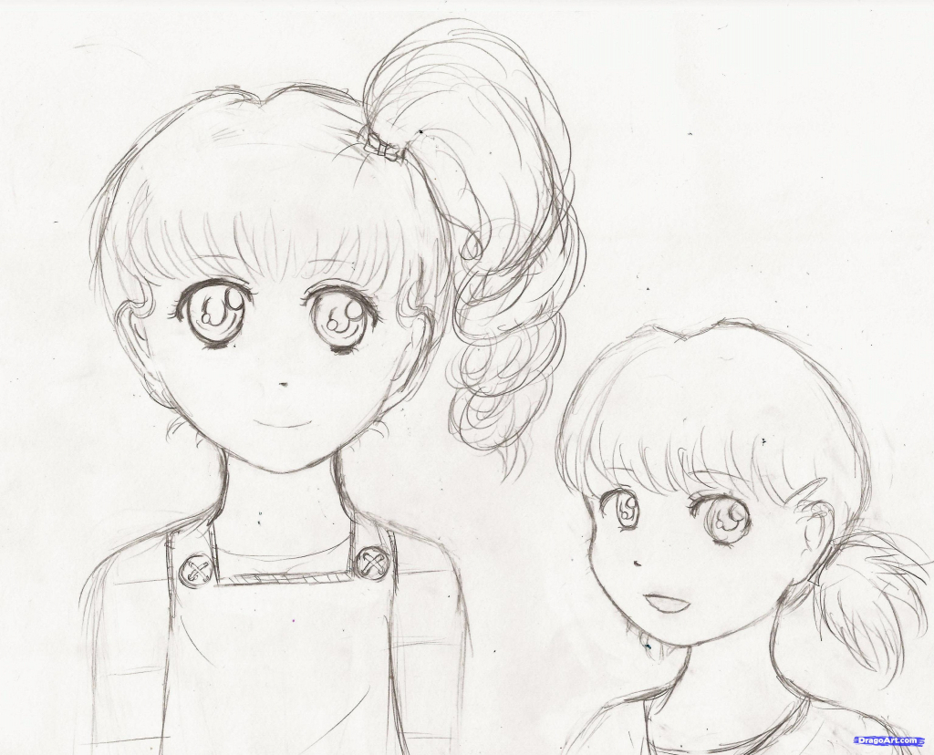 1024x828 Drawing Of A Teenage Girl Teen Girl (Sketch)goldvicblest