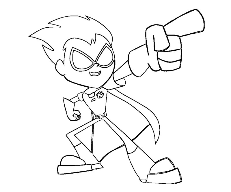 Teen Titans Go Drawing at GetDrawings.com | Free for personal use ...