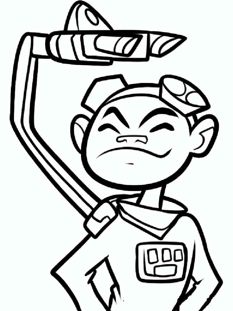 750x1000 Teen Titans Go Coloring Pages. Free Printable Teen Titans Go
