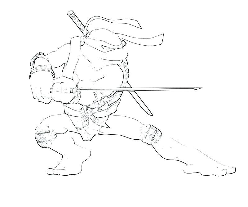 Teenage Mutant Ninja Turtle Drawing
