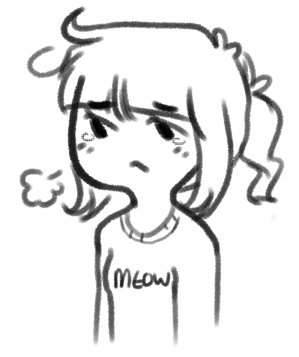 600x717 Emotionally Sad And Tired Teenager By Catbae