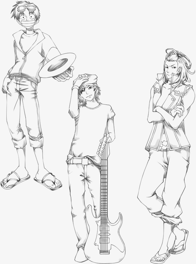 650x875 Naughty Teenager, Hat, Gentleman, Pencil Drawing Png And Psd File