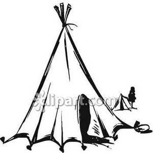 Teepee Drawing