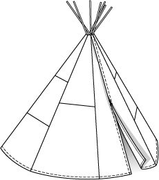 230x260 Indian Teepee And Dress Up Play Tent Dress Ups Amp Role Play