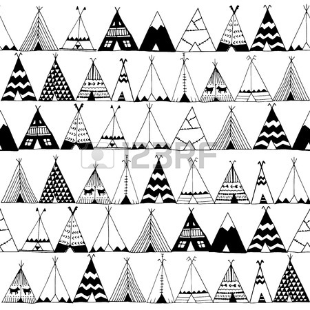 Teepee Drawing At Getdrawings Free For Personal Use Teepee