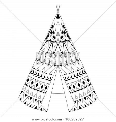 450x470 Teepee Images, Illustrations, Vectors