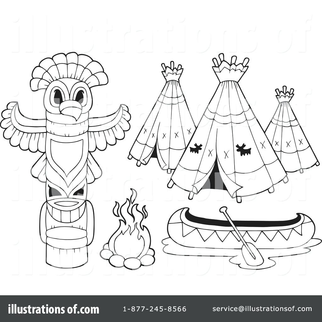 1024x1024 Coloring Teepee Coloring Pages