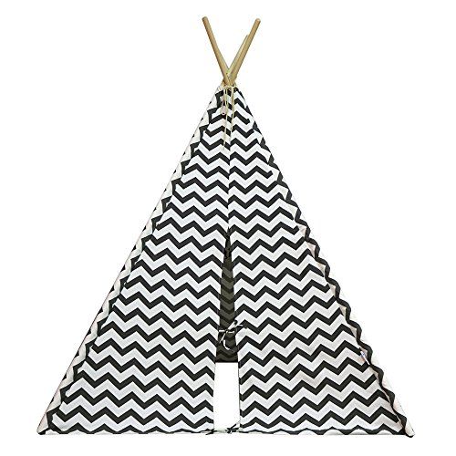 500x500 Asweets 4 Walls Indoor Canvas Teepee Play Tent For Kids With Carry