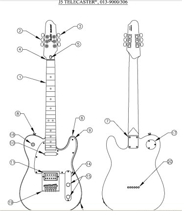 The Best Free Telecaster Drawing Images Download From 42 Free