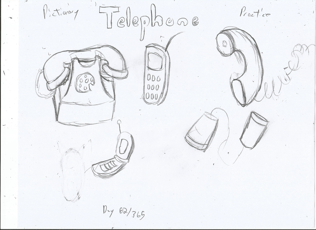 Telephone Drawing