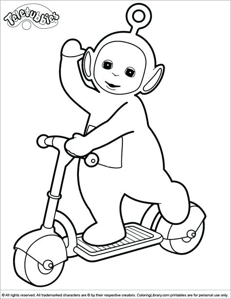 474x613 Teletubbies Coloring Book Together With Coloring Page 61
