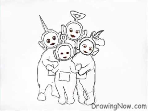 480x360 Teletubbies How To Draw Teletubbies Hd