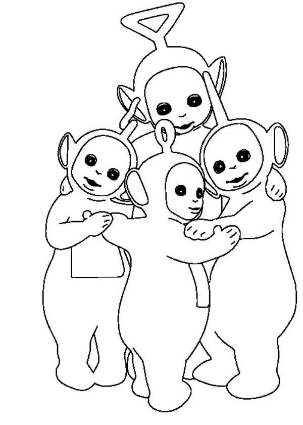 600x840 How To Draw Teletubbies Coloring Page Color Luna