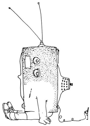 358x500 Jimmy Jet Turned Into Tv Sets Told By Shel Silverstein