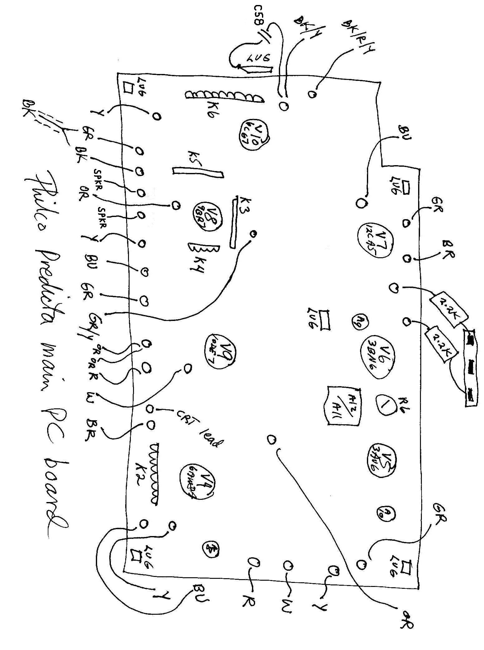 1550x2082 Philco Model 4654 Predicta Television (1958)