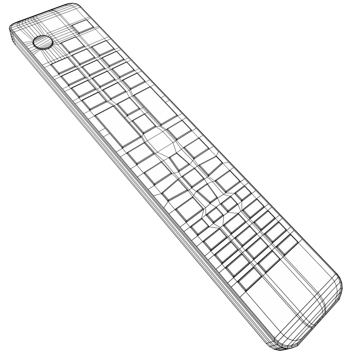 1200x1200 Tv Remote Control By Francescomilanese 3docean