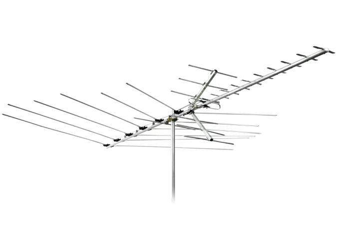 675x500 Uhfvhffm Digital Hdtv Outdoor Tv Antenna Channel Master Cm 3018