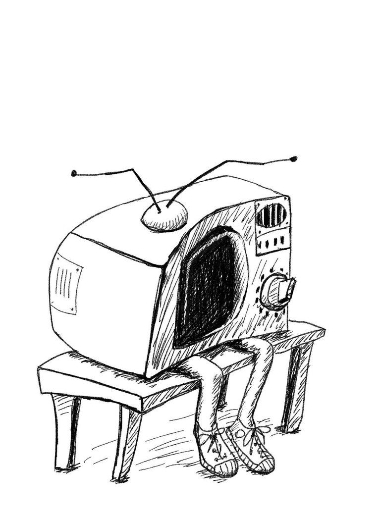 765x1044 Old And Sad Tv Set By Hitryi Pryanik