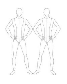 236x295 Female And Male Croquis Ms. David's On Line Classroom 0. Sewing