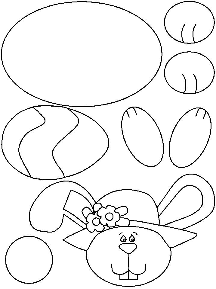 718x957 Easter Crafts For Kids Templates Site About Children
