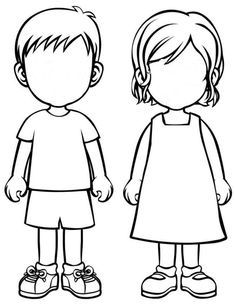 236x305 Blank Faces Templates. Free Printables