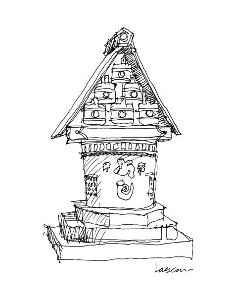463x600 Japanese Temple Drawing Small Temple Media