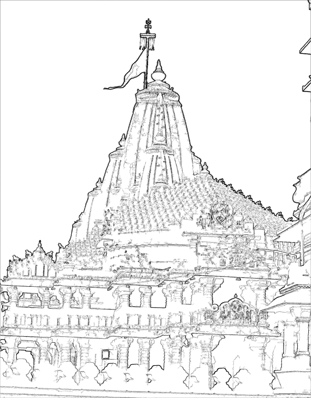 Temple Drawing At Getdrawings Com Free For Personal Use Temple