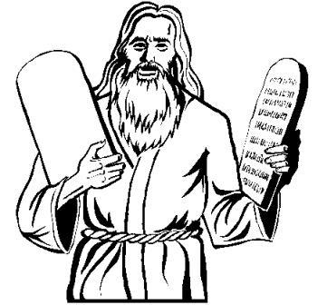 361x336 Moses And The Ten Commandments