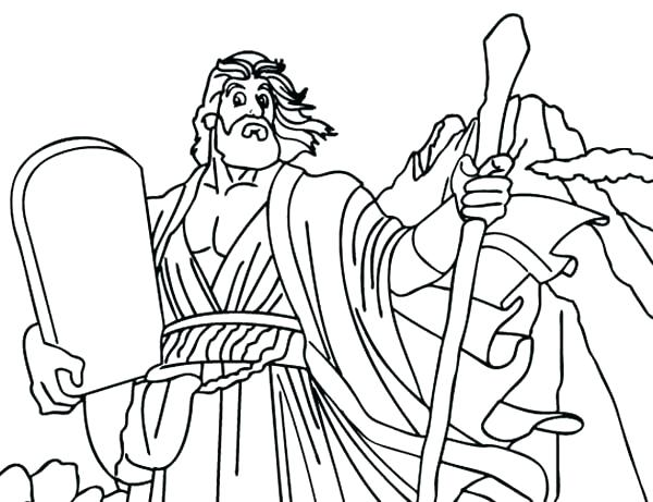 600x461 Classy Ten Commandments Coloring Pages Fee