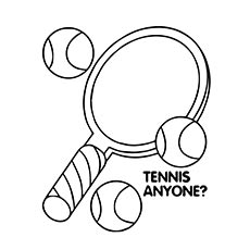 230x230 Top 25 Free Printable Tennis Coloring Pages Online Tennis