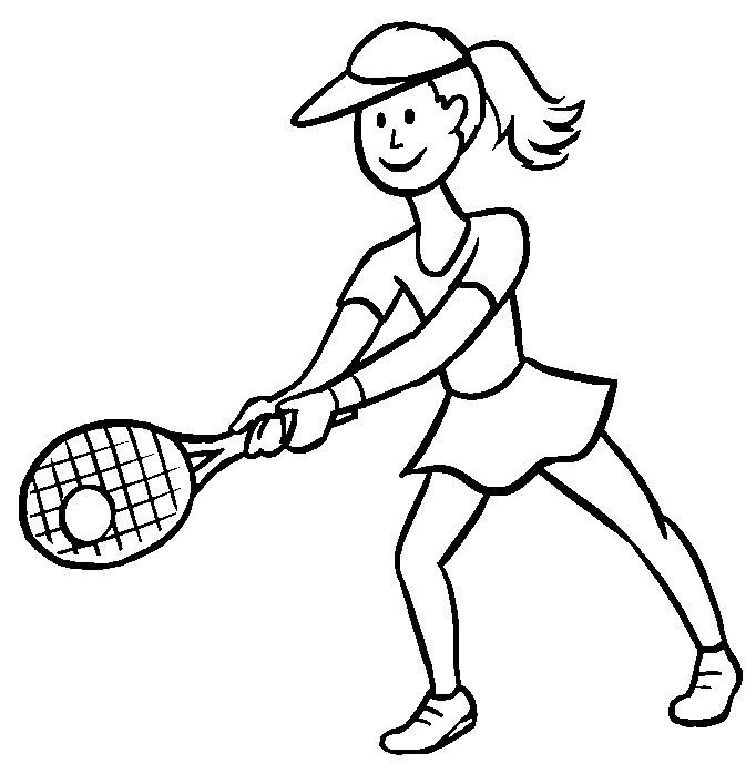 Tennis Drawing