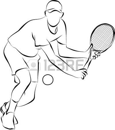 400x450 Playing Tennis Stock Photo, Picture And Royalty Free Image. Image