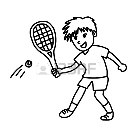 450x450 Drawing Racket Stock Photos Amp Pictures. Royalty Free Drawing